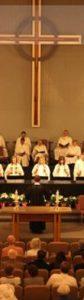 Bell Choir First presbyterian Church Orange CA